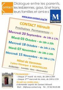 Permanences Contact Herault